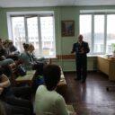 Встреча с подполковником в отставке, ветераном Воруженных Сил, поэтом Петровым В.И.