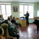 Встреча с заместителем начальника управления по наркоконтролю и противодействию торговле людьми УВД Гродненского облисполкома