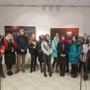 Открытие фотовыставки белорусского фотографа Ирэны Гудиевской