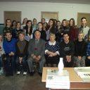 Встреча с ветераном труда колледжа,ветераном комсомольского движения Сергейчиком В.М.