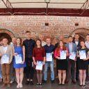 Торжественная церемония вручения стипендии Белорусского фонда мира одаренным и талантливым учащихся из Гродненской области